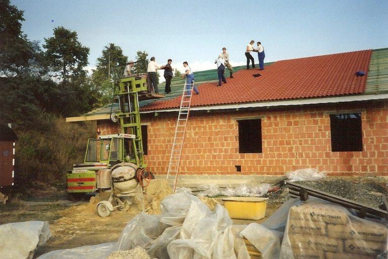 Bau Dach